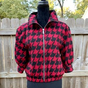 Express Houndstooth jacket size M